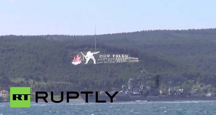Turkey: Footage shows Russian frigate that fired warning shot at Turkish boat