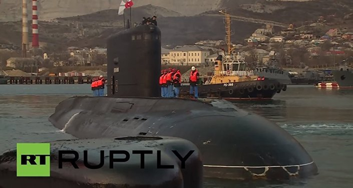 Submarine returns after striking Islamic State targets in Syria