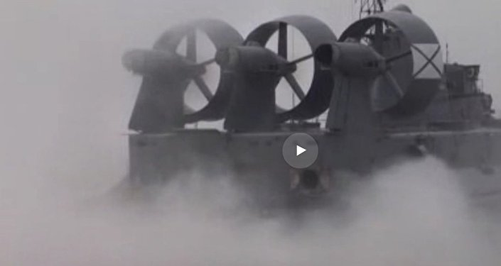 Footage of maneuvers: flying ship Mordovia hits the target