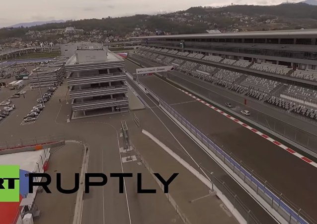 Exclusive drone footage shows Formula 1 Grand Prix track in Sochi