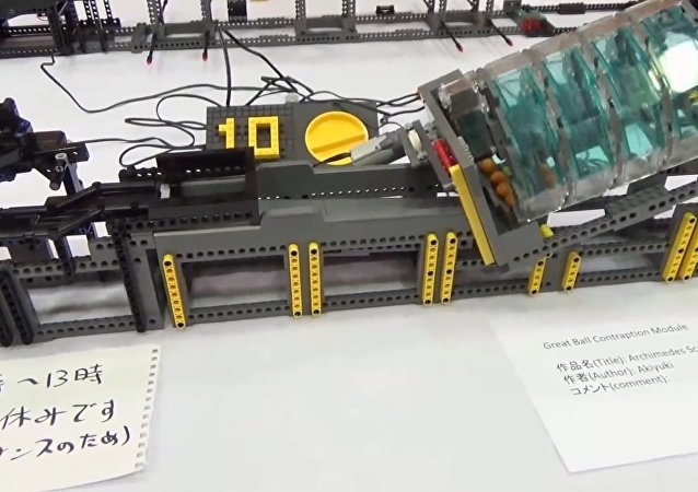 Great Ball Contraption(GBC) at Japan Brickfest 2016