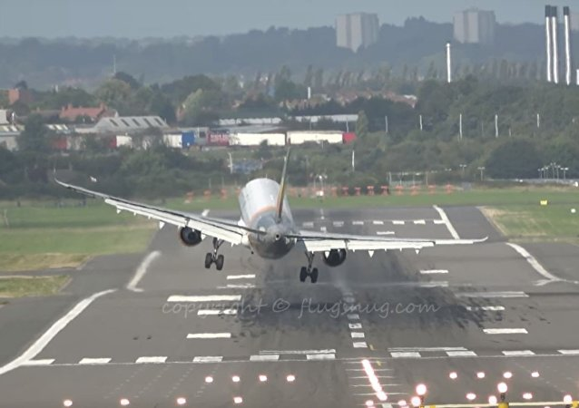 Unfortunate Landings: Airbus Gets Caught in Crosswind