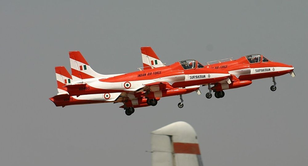 HAL HJT-16 Kiran Indian Air Force ( Surya Kiran Aerobatic Team )