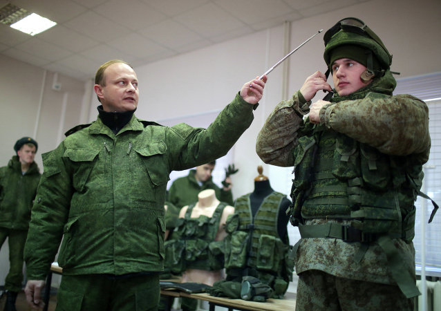 Russian Armed Forces ground troops test military equipment