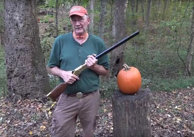 How to Carve a Pumpkin With a Rifle