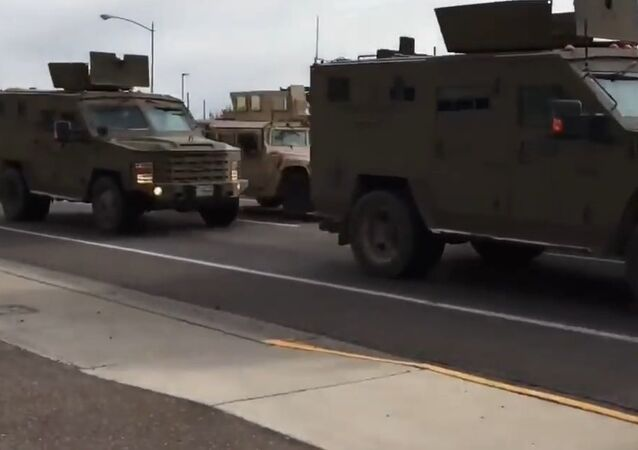 Nuclear Weapon Transported In A Convoy Gets Rear Ended By Truck