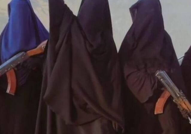 Women members of Islamic State