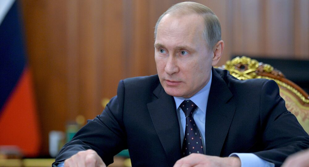 President Putin holds meeting on economic issues