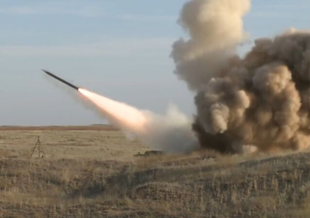 Start Iskander-M cruise missile