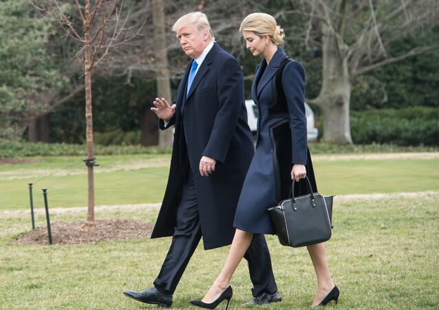 Donald i Ivanka Tramp