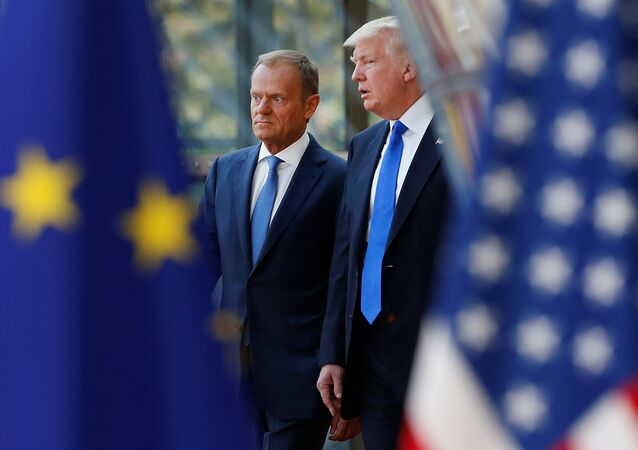 Donald Tramp i Donald Tusk
