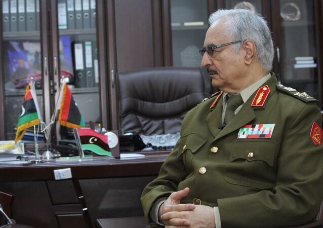 Libijski general Halifa Haftar