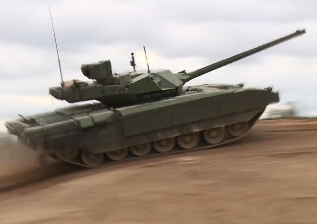 Demonstracija tenka T-14 Armata