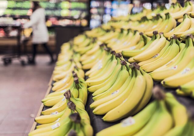 Banane u supermarketu