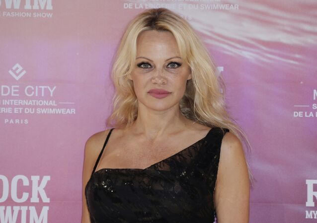 US actress Pamela Anderson