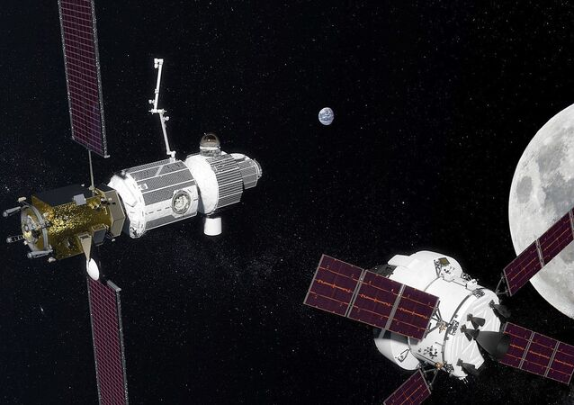 Лунарна орбита Deep Space Gateway