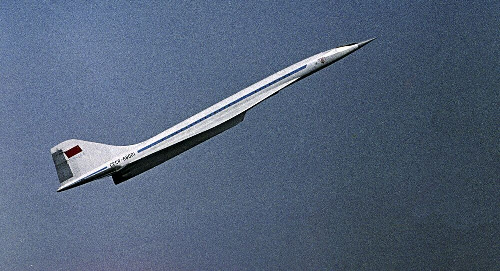 Putnički supersonični avion Tu-144
