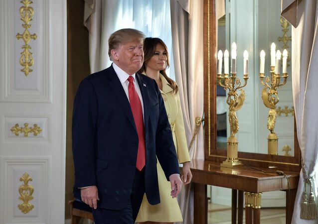 Donald Tramp i Melanija Tramp