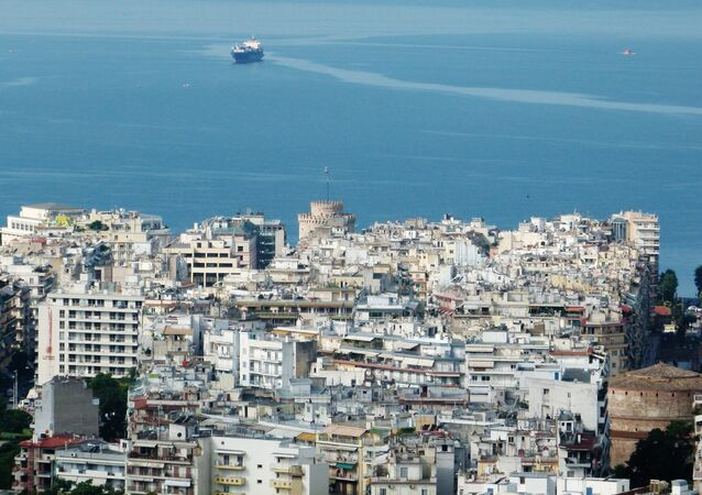 A view of the city of Thessaloniki in Greece. (File)