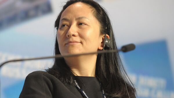 Meng Wanzhou, Chief Executive Officer, Huawei Technologies, attending the 6th Annual VTB Capital Investment Forum Russia Calling at the World Trade Center, October 2, 2014 - Sputnik Srbija