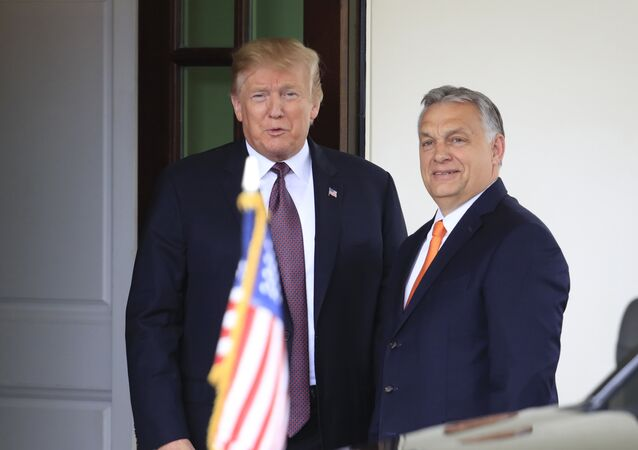 Donald Tramp i Viktor Orban