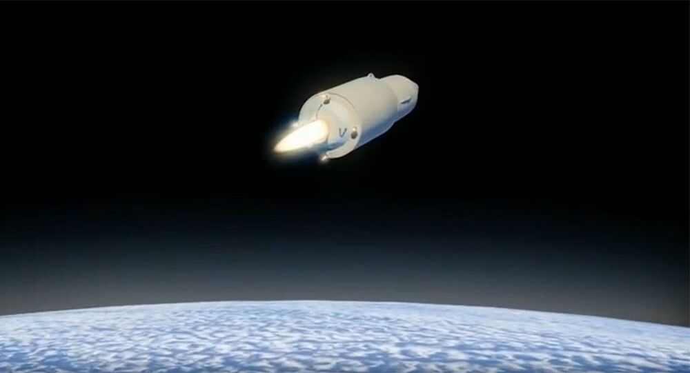 Avangard hypersonic glide vehicle