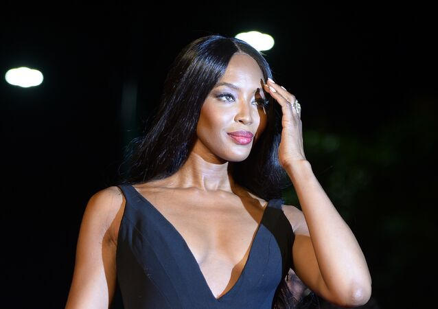 Model Naomi Campbell arrives for the premiere of the movie Franca : Chaos and Creation presented out of competition at the 73rd Venice Film Festival