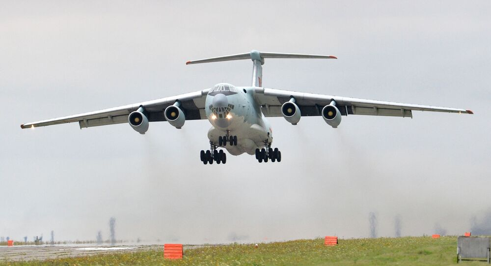 Transportni vojni avion Il-76