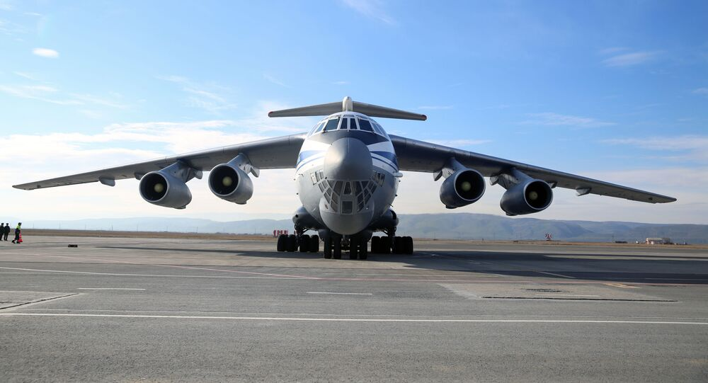Vojni transportni avion Il-76 MD