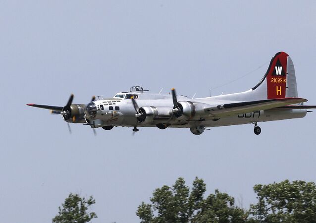 World War II-era B-17 bomber. File photo.