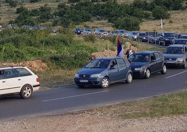 Auto-litija iz Kuča do Podgorice