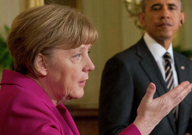 Angela Merkel i Barak Obama