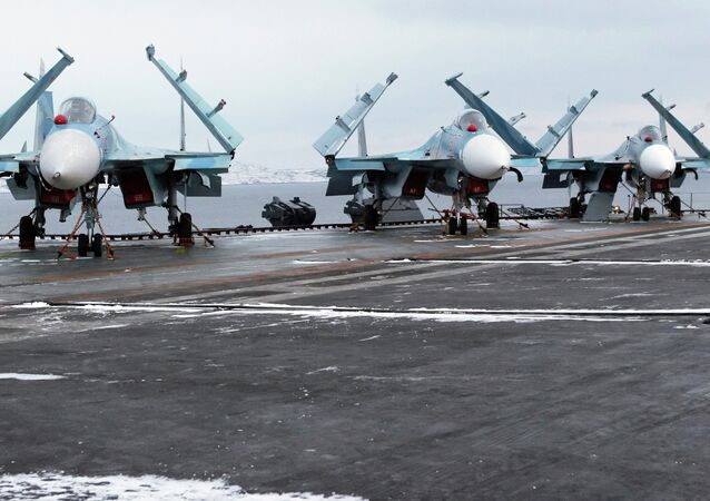 SU-33 fighter jets