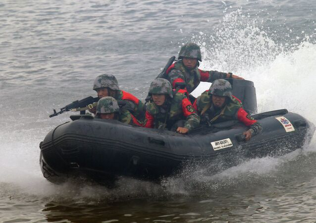 Open Water engineering troops competition