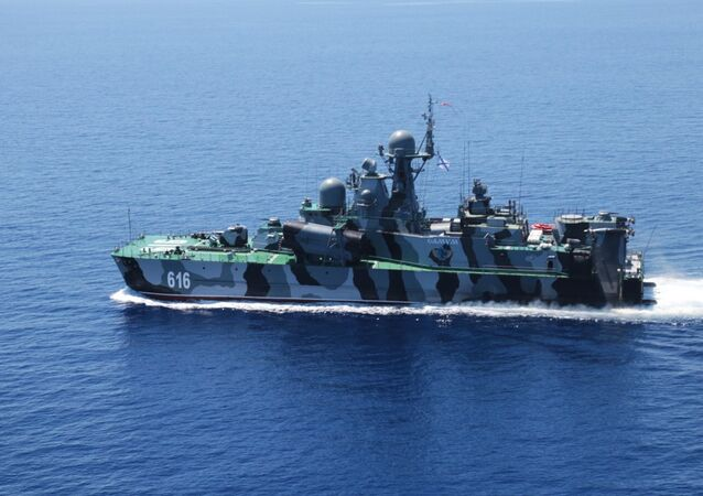 Russian-Chinese drills Joint Sea-2015
