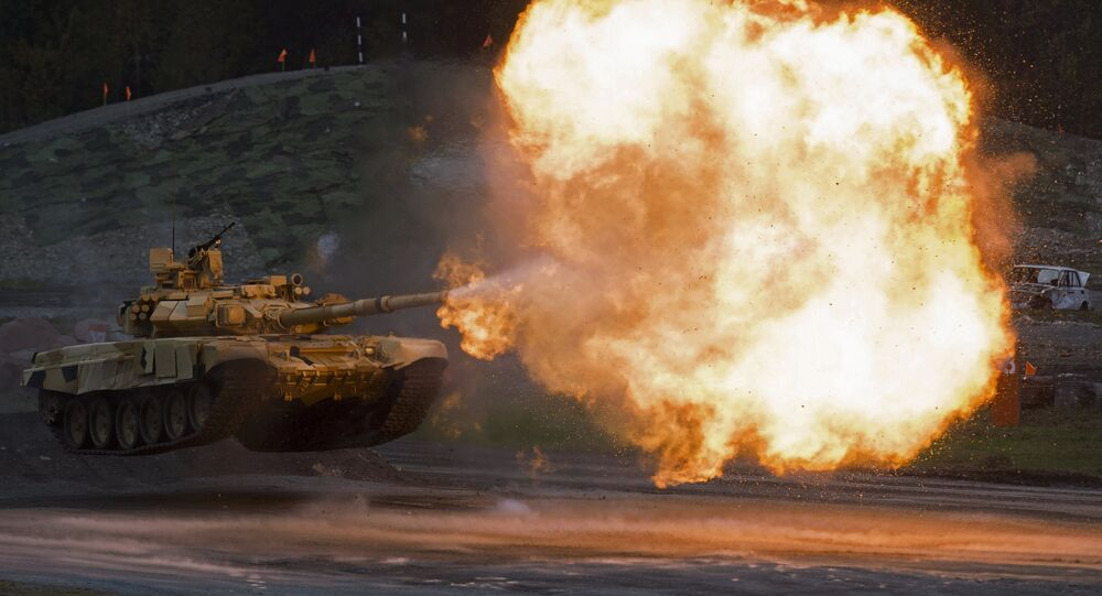 T-90A tenk